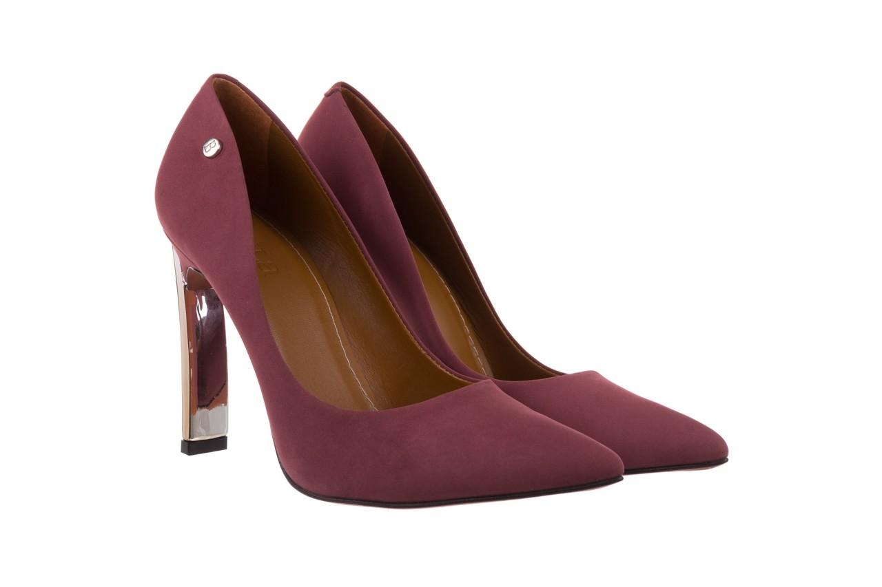 Szpilki bayla-067 118706l jasnofioletowe, skóra naturalna - zamszowe - szpilki - buty damskie - kobieta 8