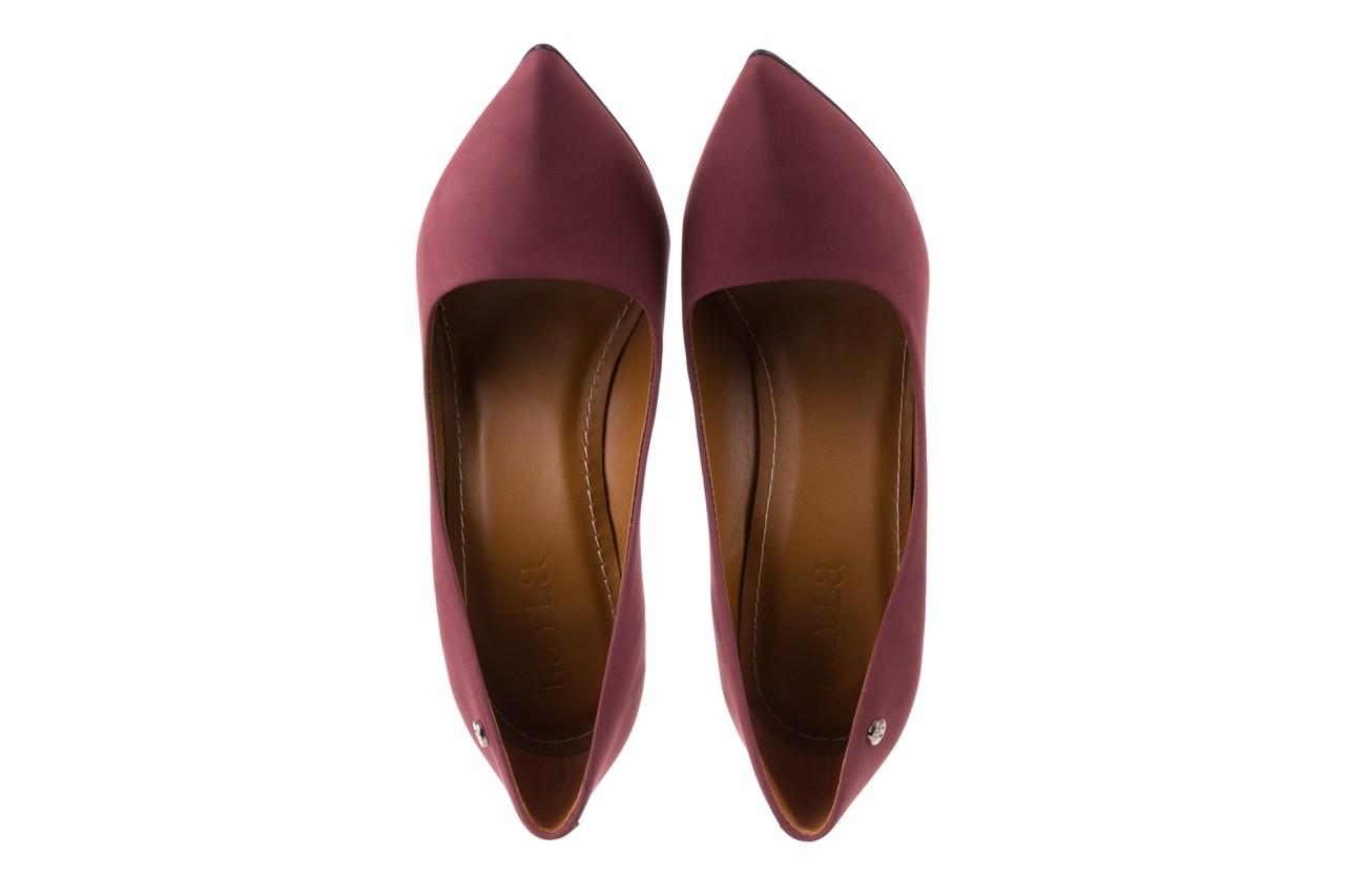 Szpilki bayla-067 118706l jasnofioletowe, skóra naturalna - zamszowe - szpilki - buty damskie - kobieta 11