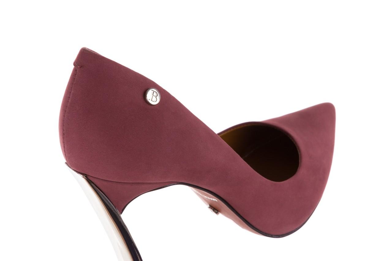 Szpilki bayla-067 118706l jasnofioletowe, skóra naturalna - zamszowe - szpilki - buty damskie - kobieta 12