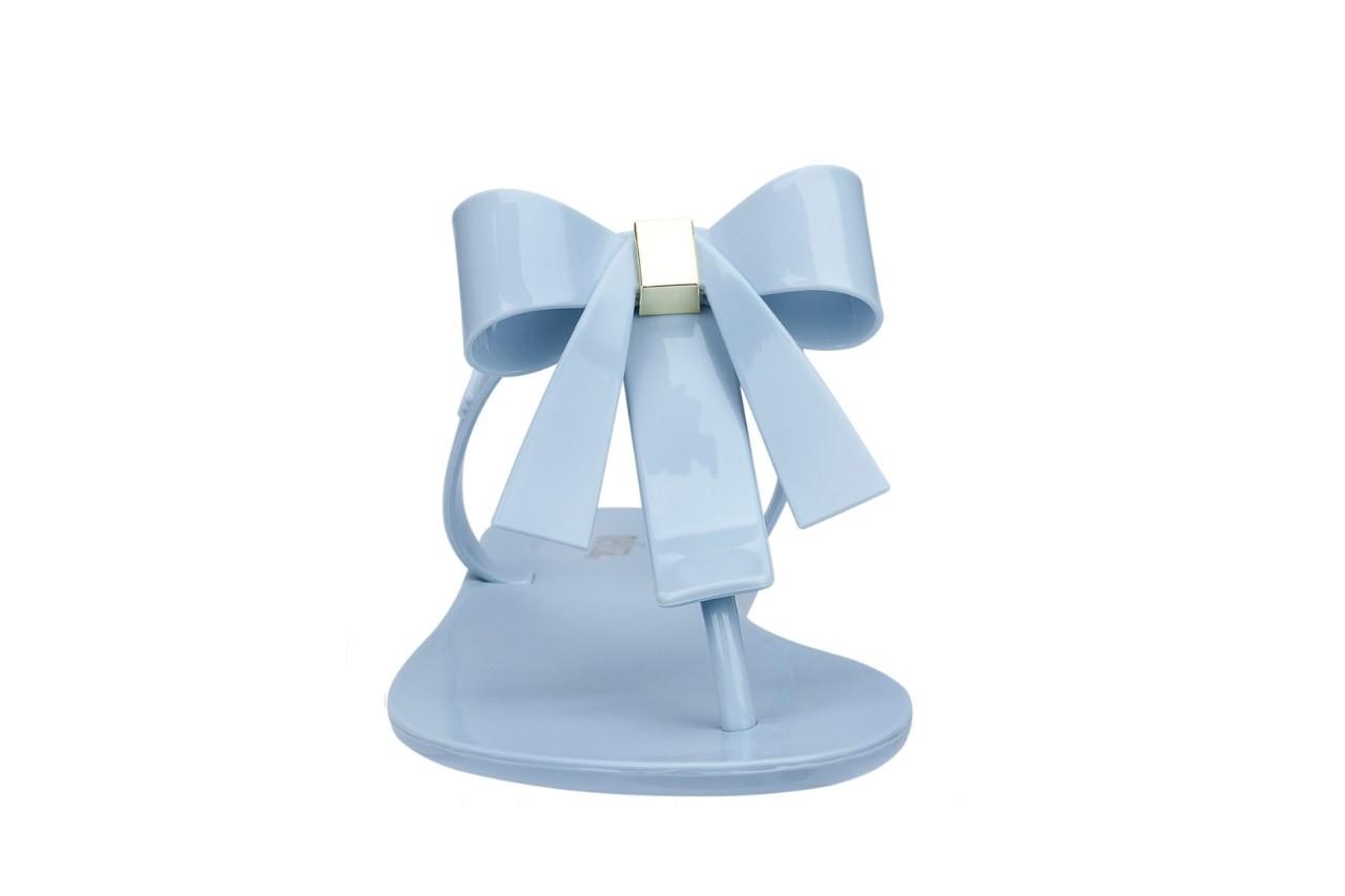Klapki melissa t bar v ad frosted blue, niebieski, guma - melissa - nasze marki 7
