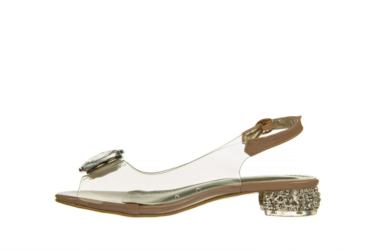 Sandały sca'viola g-15 l pink 21 047182, róż, silikon - na obcasie - sandały - buty damskie - kobieta 12
