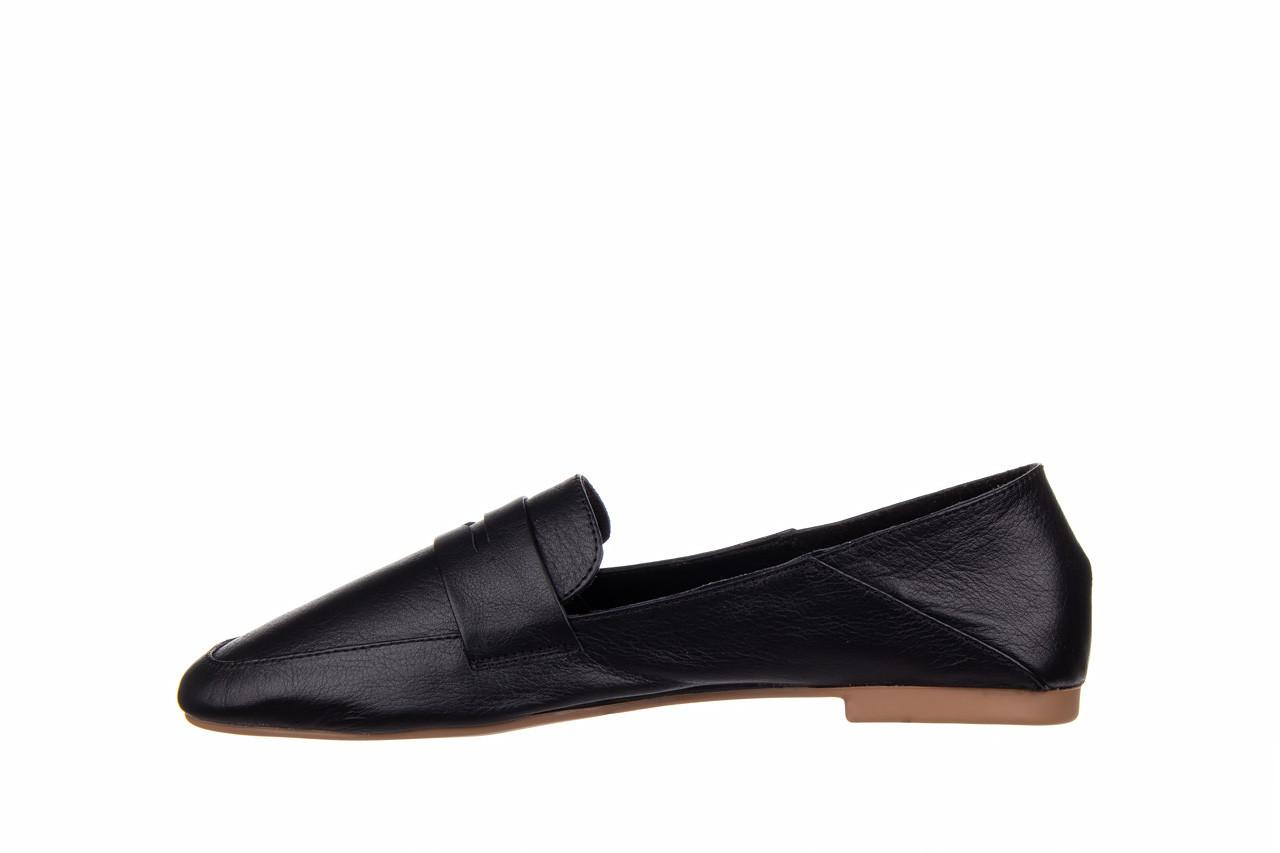 Półbuty bayla-161 138 4060 black 161222, czarny, skóra naturalna  - wsuwane - półbuty - buty damskie - kobieta 10