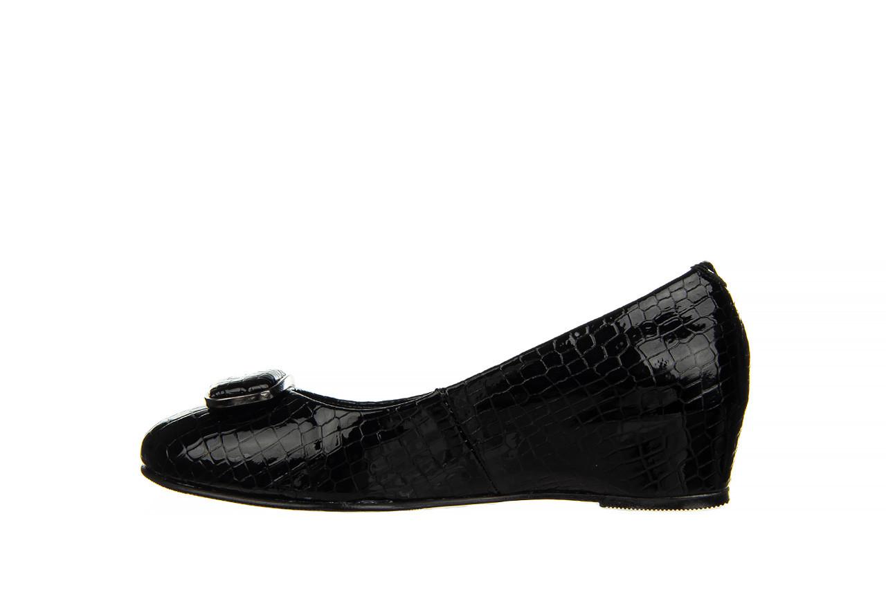 Baleriny bayla-187 105 black 187013, czarny, skóra naturalna  - bayla - nasze marki 9