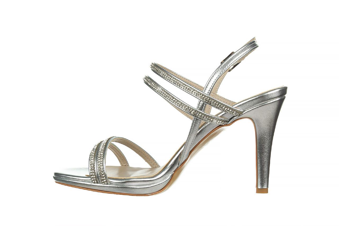 Sandały bayla-187 587-1120 silver 187016, srebro, skóra ekologiczna  - sandały - buty damskie - kobieta 9