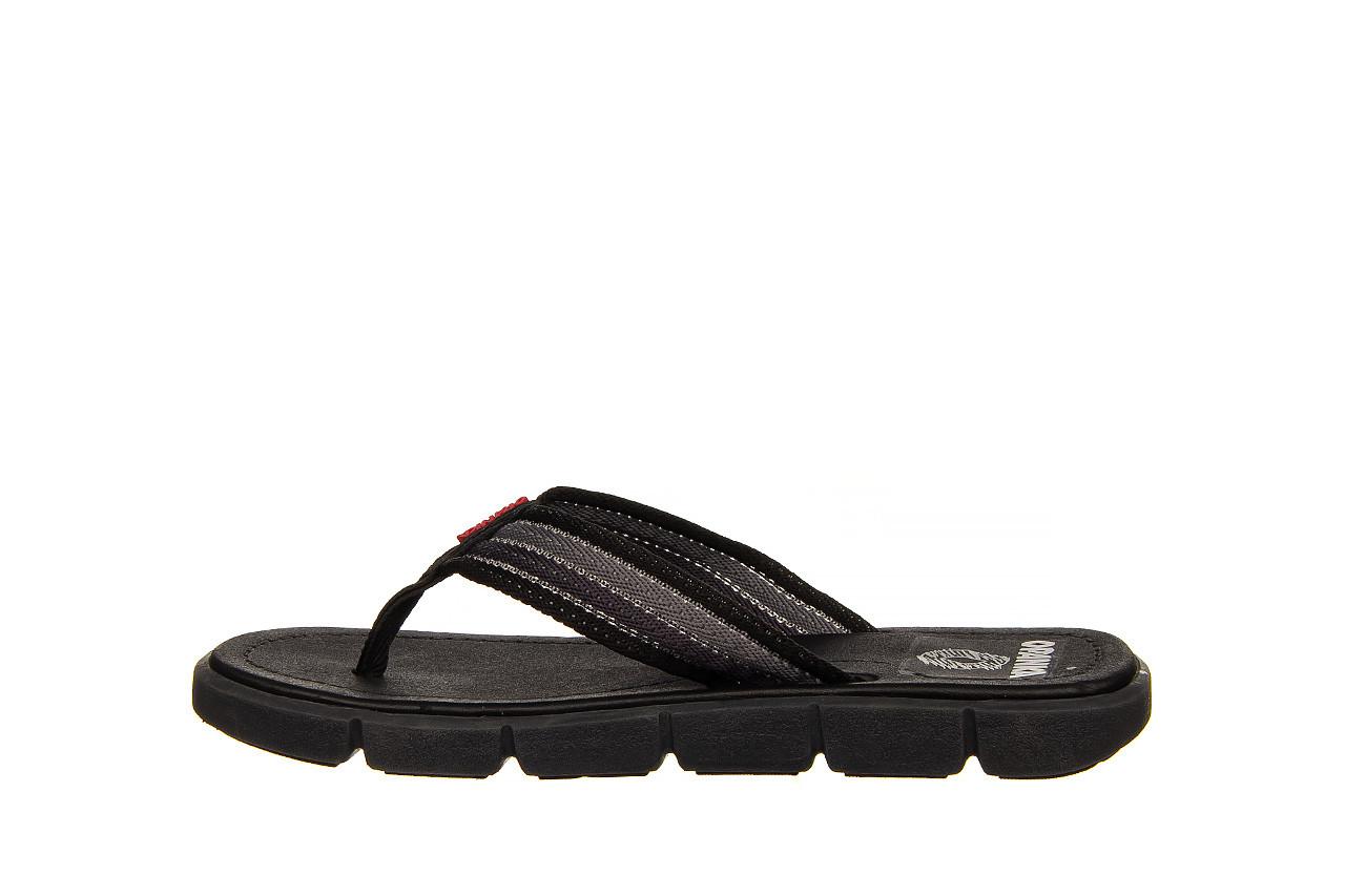 Klapki azaleia 451-op450 black, czarny, materiał  - azaleia - nasze marki 8