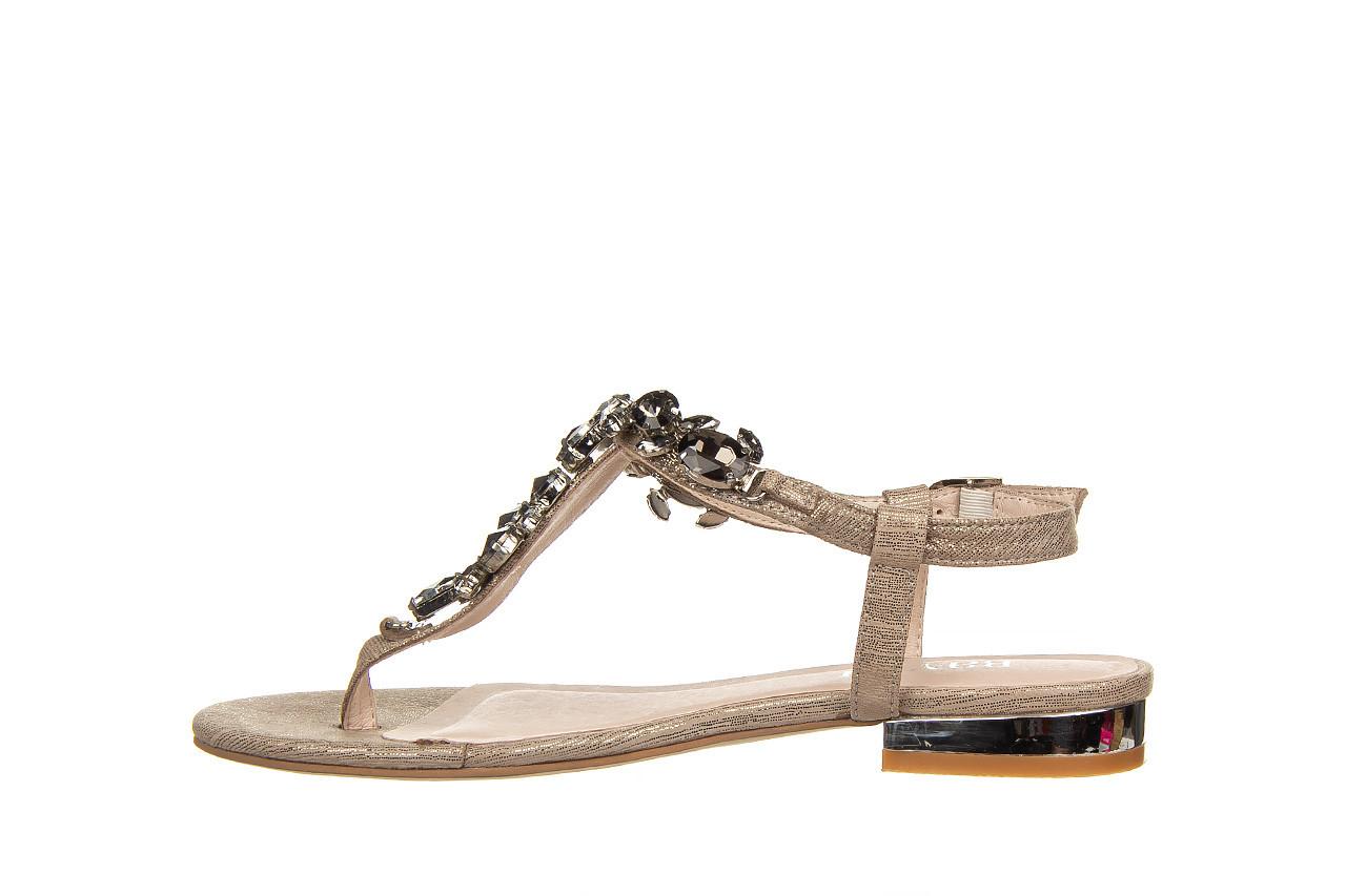 Sandały bayla-018 15472-x2 light grey, szary, skóra naturalna  - bayla - nasze marki 9