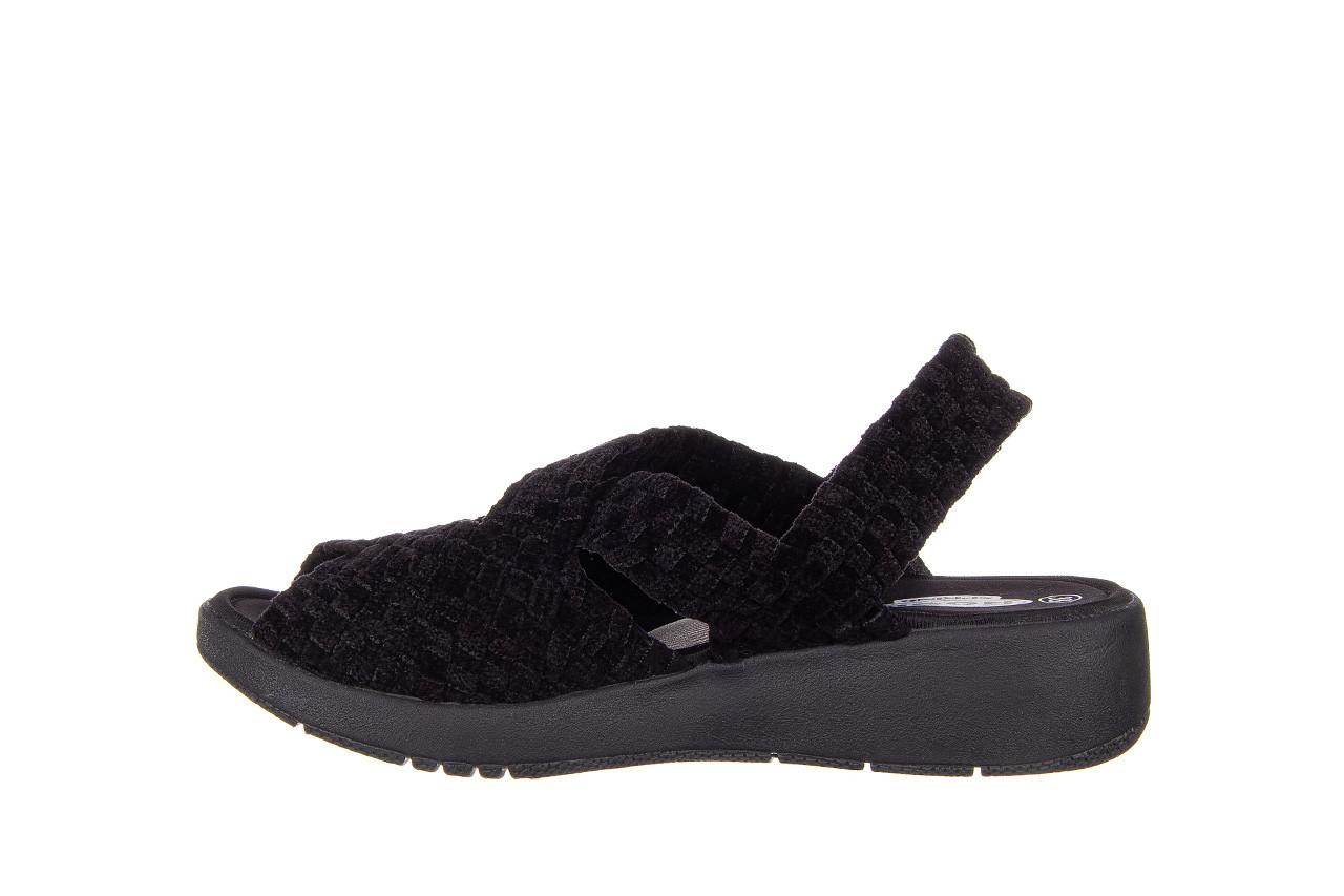 Sandały rock minily black cashmere 032847, czarny, materiał  - rock - nasze marki 9
