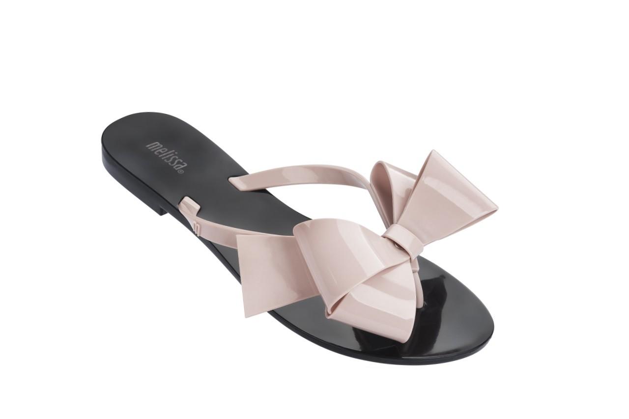 Klapki melissa harmonic bow iii ad black pink, guma - melissa - nasze marki 5