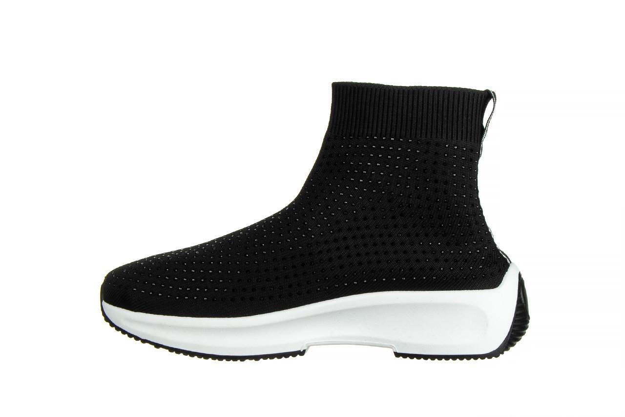 Sneakersy sca'viola l-15 black 047194, czarny, materiał - trendy - kobieta 10