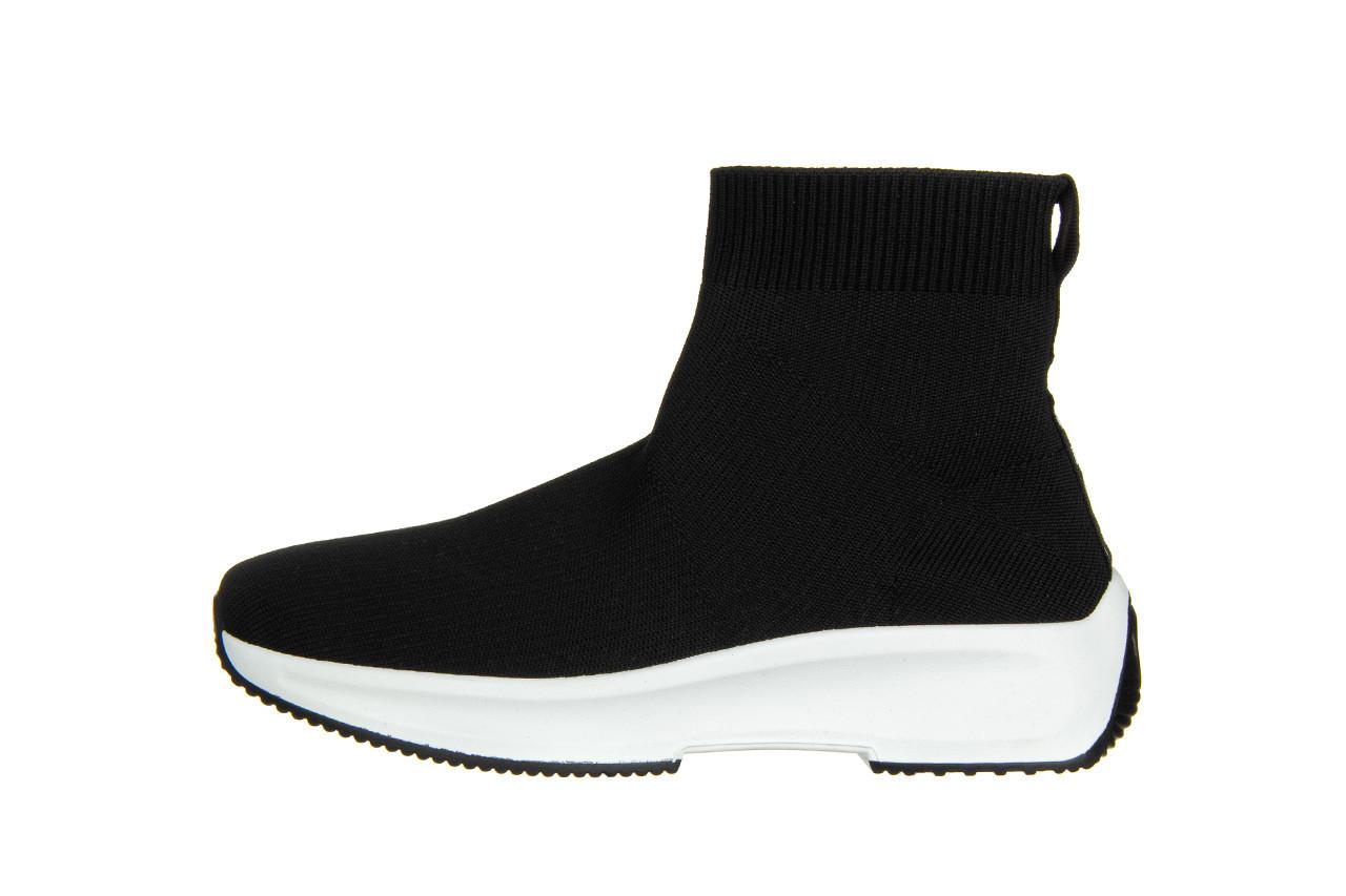 Sneakersy sca'viola l-16 black 047195, czarny, materiał - jesień-zima 2020/2021 10