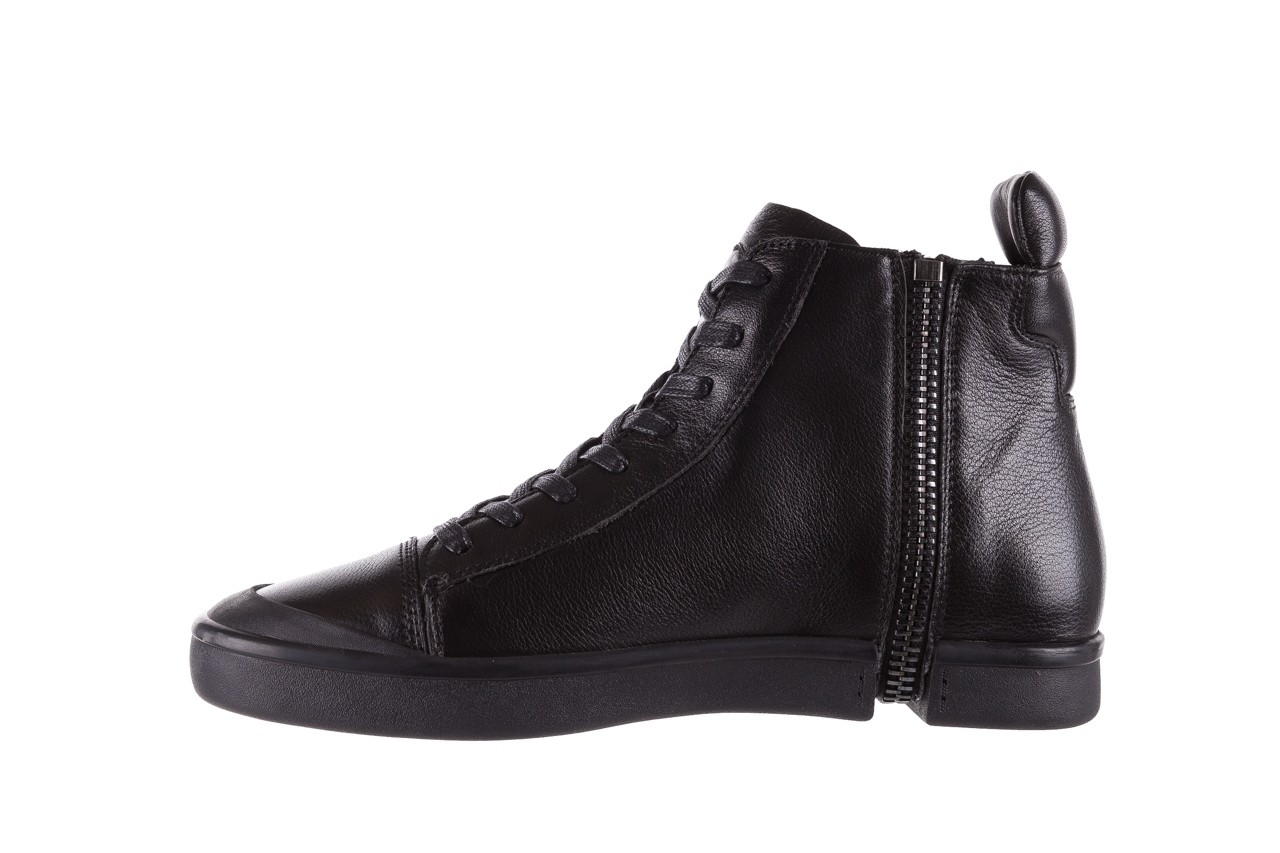 Sneakersy john doubare m5761-1 black, czarny , skóra naturalna  - trendy - mężczyzna 14