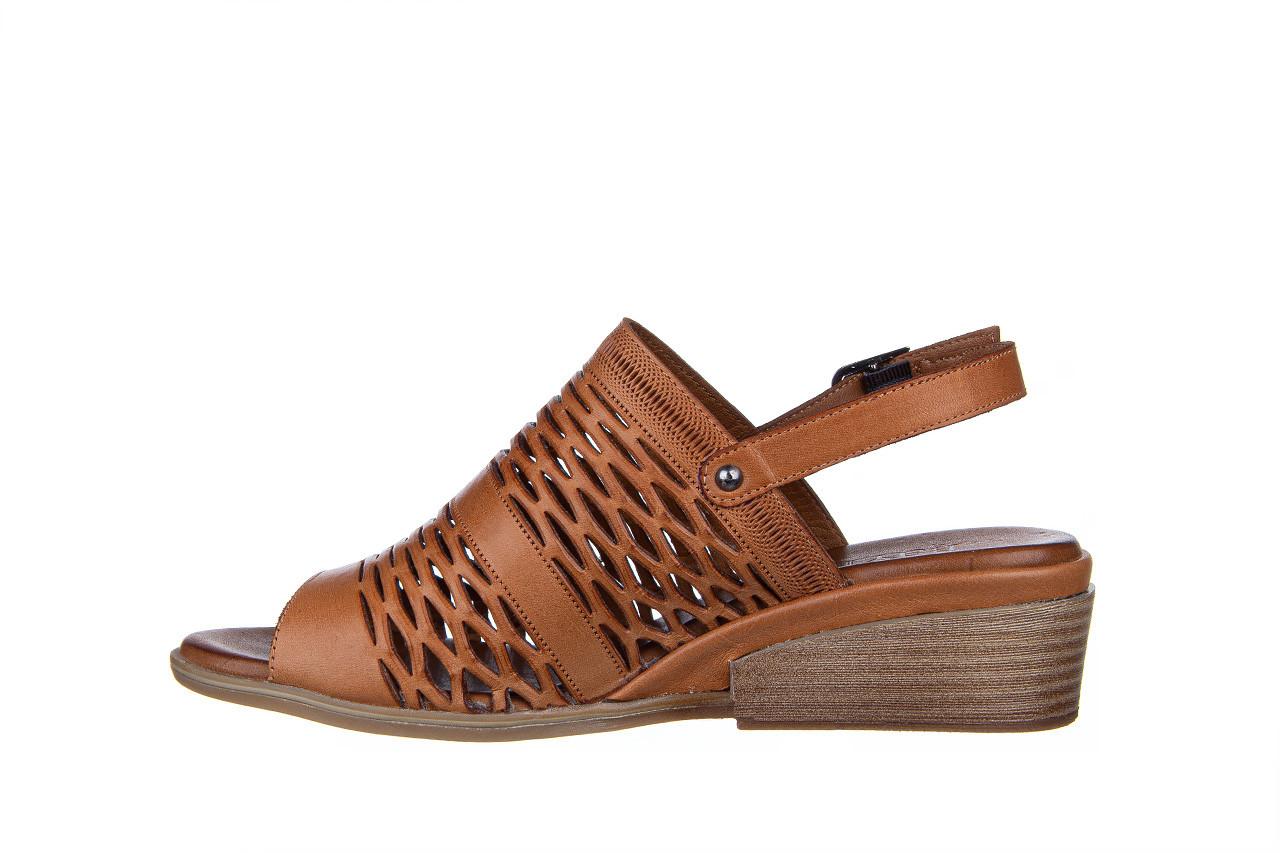Sandały bayla-161 061 1600 tan 161201, brąz, skóra naturalna  - bayla - nasze marki 10