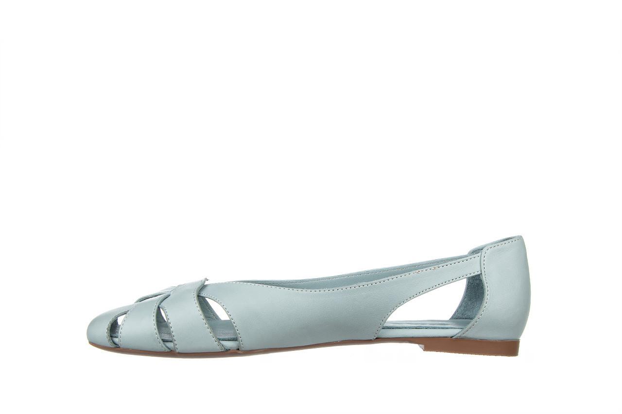 Baleriny bayla-161 138 1560 fresh 161220, niebieski, skóra naturalna - skórzane - baleriny - buty damskie - kobieta 10