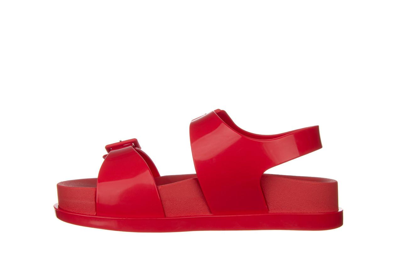 Sandały melissa wide platform ad red 010363, czerwony, guma - nowości 10