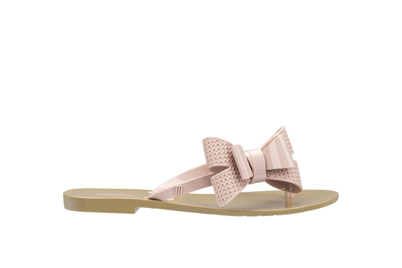 Klapki melissa harmonic bow v ad beige pink, beż/róż, guma - melissa - nasze marki 3