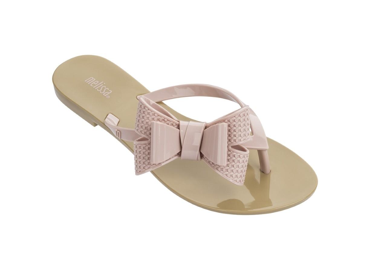 Klapki melissa harmonic bow v ad beige pink, beż/róż, guma - melissa - nasze marki 4
