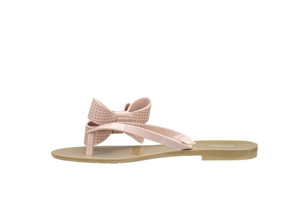 Klapki melissa harmonic bow v ad beige pink, beż/róż, guma - melissa - nasze marki 5