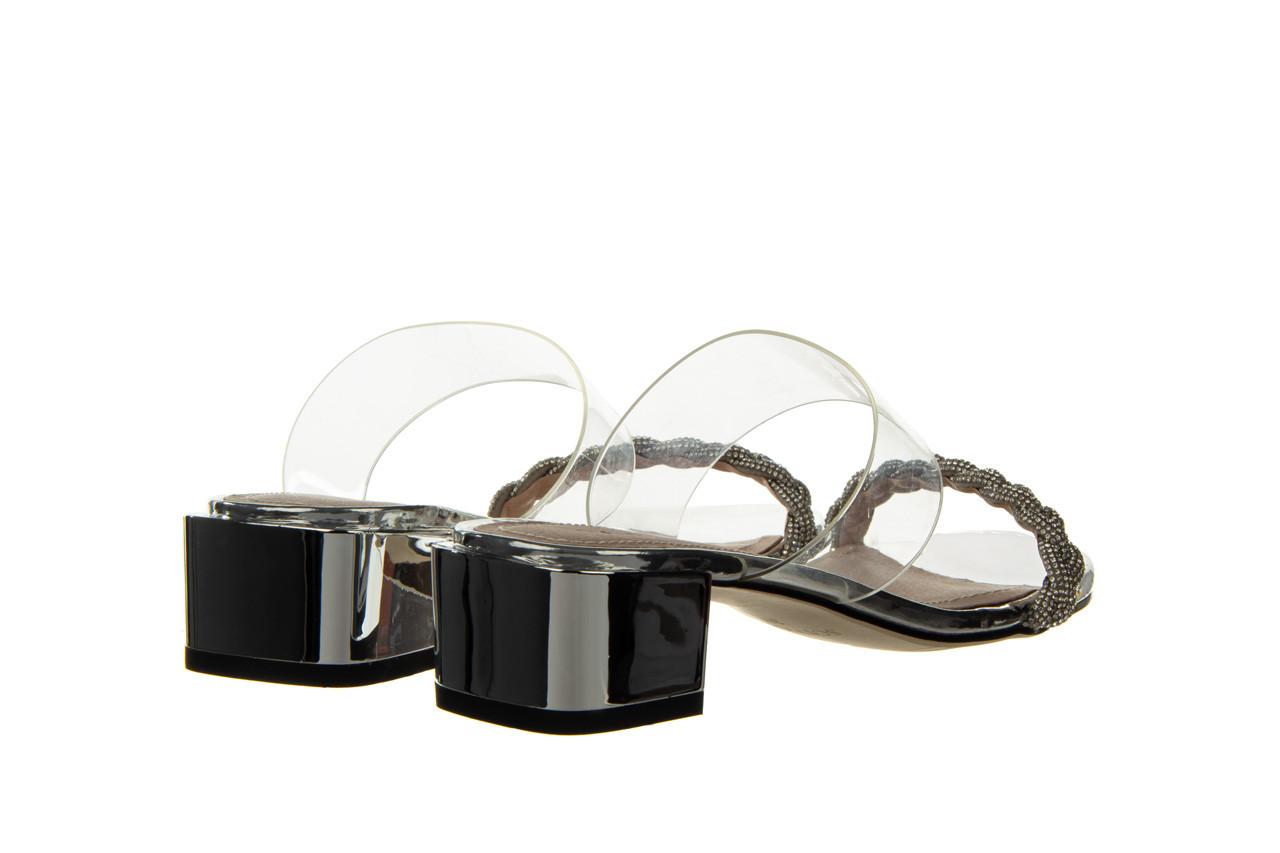 Klapki sca'viola b-205 silver 047180, srebro, silikon - klapki - buty damskie - kobieta 13