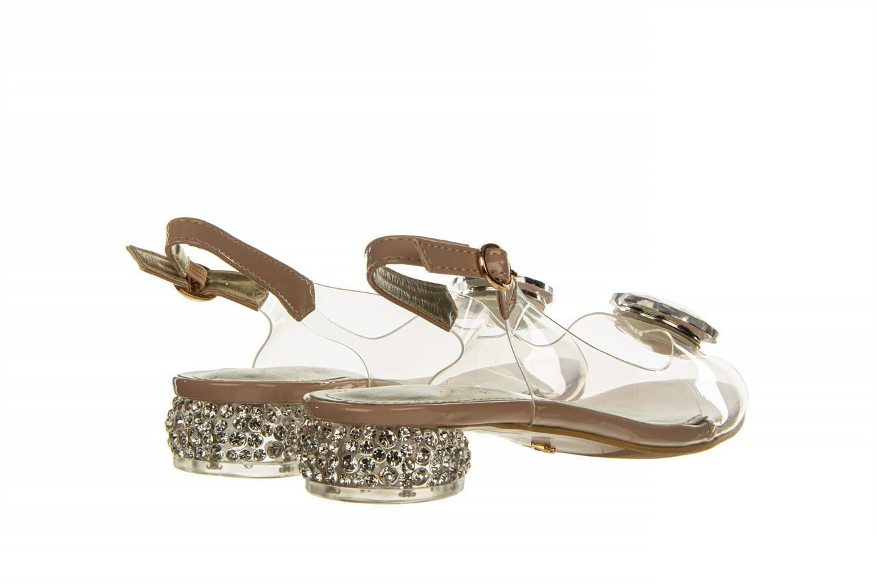 Sandały sca'viola g-15 l pink 21 047182, róż, silikon - na obcasie - sandały - buty damskie - kobieta 13