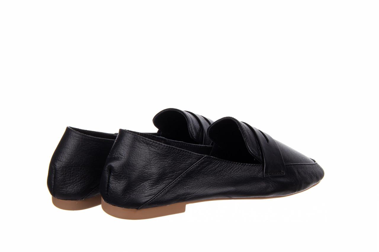 Półbuty bayla-161 138 4060 black 161222, czarny, skóra naturalna  - wsuwane - półbuty - buty damskie - kobieta 11