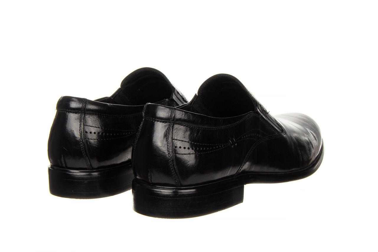 Półbuty john doubare ygc-z253-351-1 black 104176, czarny, skóra naturalna  - nowości 13