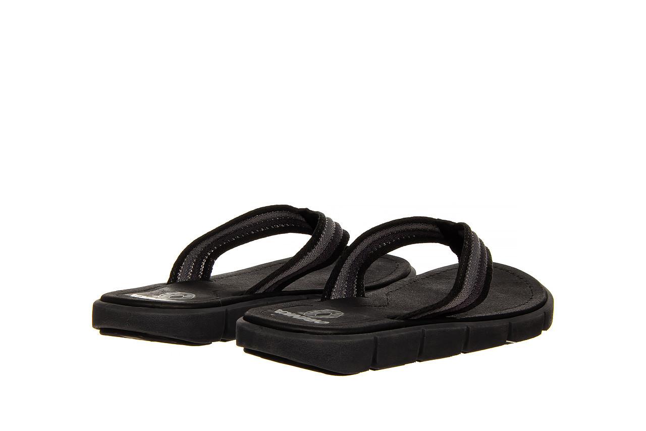 Klapki azaleia 451-op450 black, czarny, materiał  - azaleia - nasze marki 9