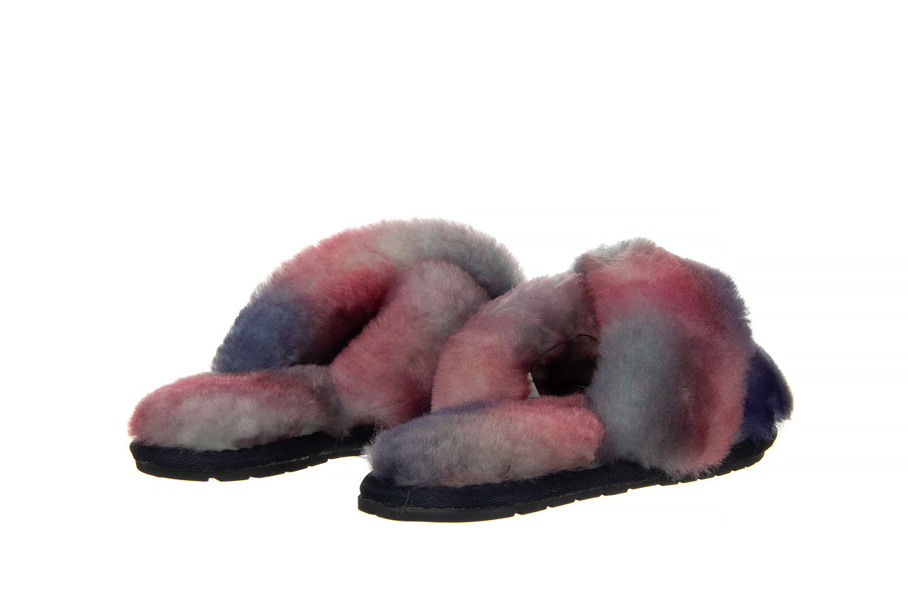 Kapcie emu mayberry tie dye sunset purple 119136, fiolet, futro naturalne  - jesień-zima 2020/2021 10