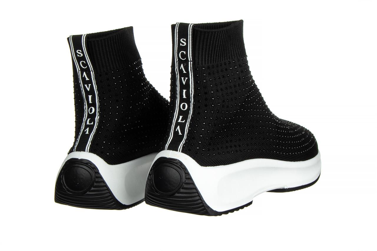 Sneakersy sca'viola l-15 black 047194, czarny, materiał - trendy - kobieta 11