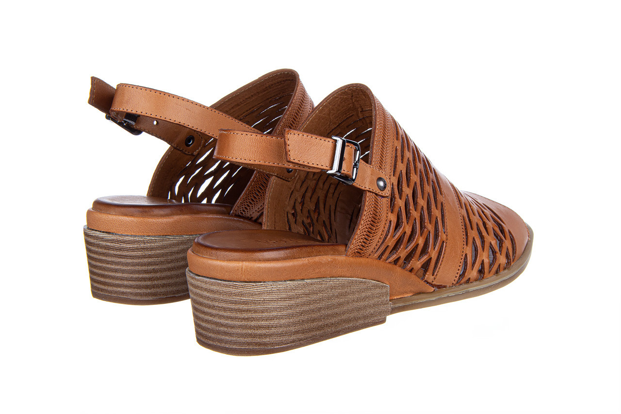 Sandały bayla-161 061 1600 tan 161201, brąz, skóra naturalna  - bayla - nasze marki 11
