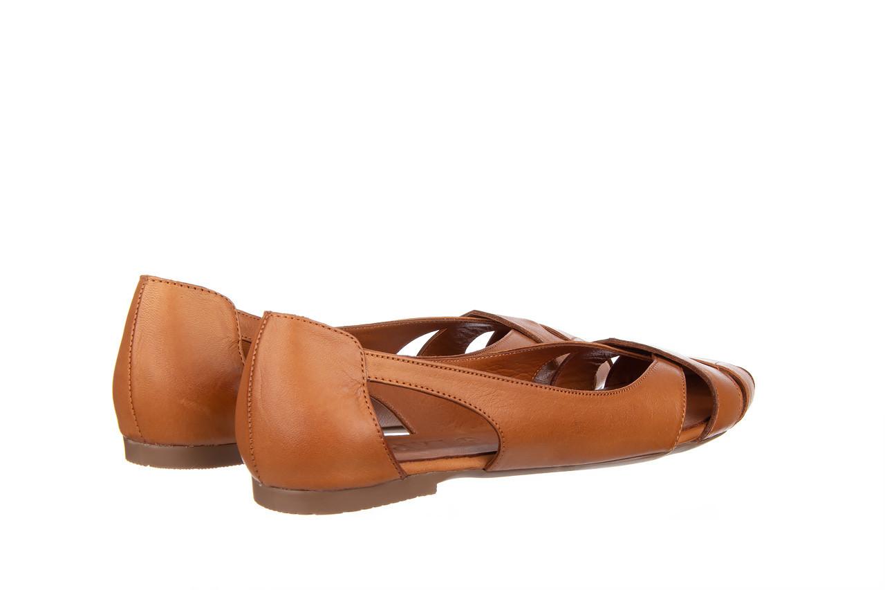 Baleriny bayla-161 093 6047 coconut 161209, brąz, skóra naturalna  - skórzane - baleriny - buty damskie - kobieta 11