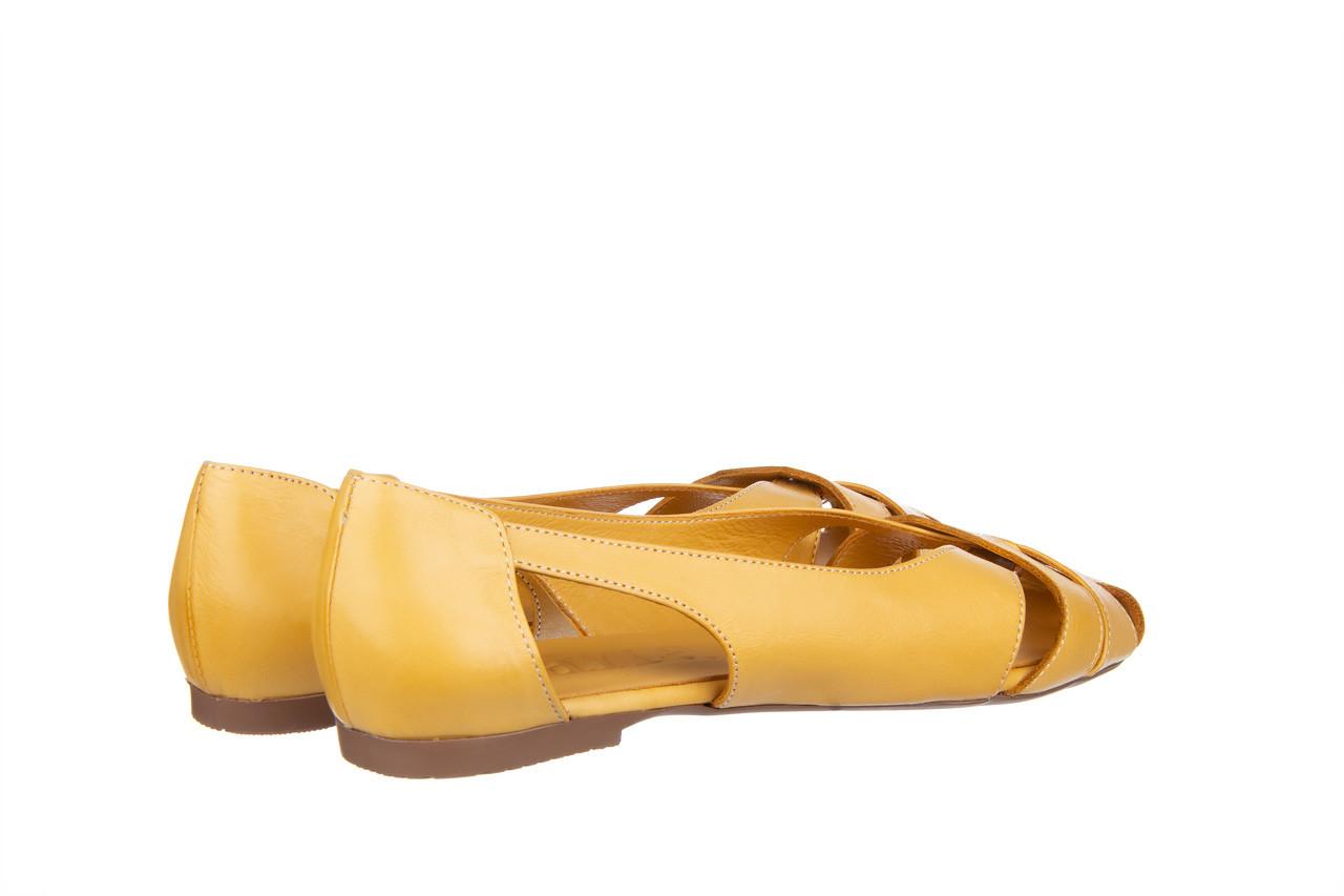 Baleriny bayla-161 138 1560 noce 161221, żółty, skóra naturalna  - bayla - nasze marki 11