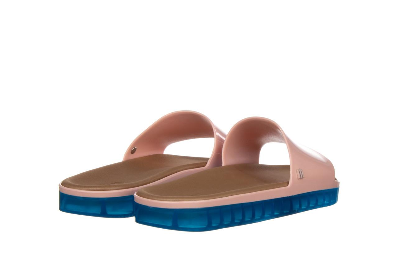 Klapki melissa beach slide next gen ad pink blue 010339, róż, guma - klapki - buty damskie - kobieta 10