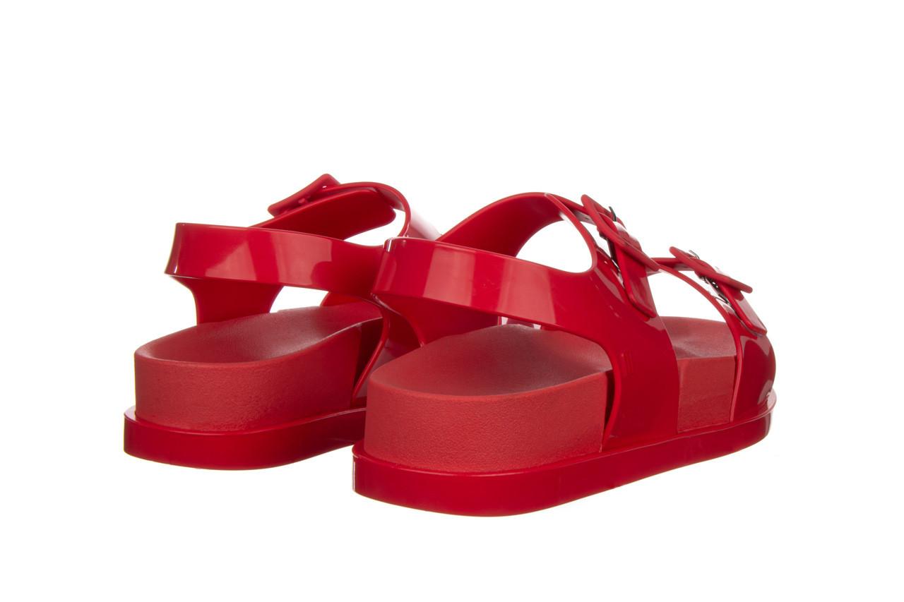 Sandały melissa wide platform ad red 010363, czerwony, guma - nowości 11