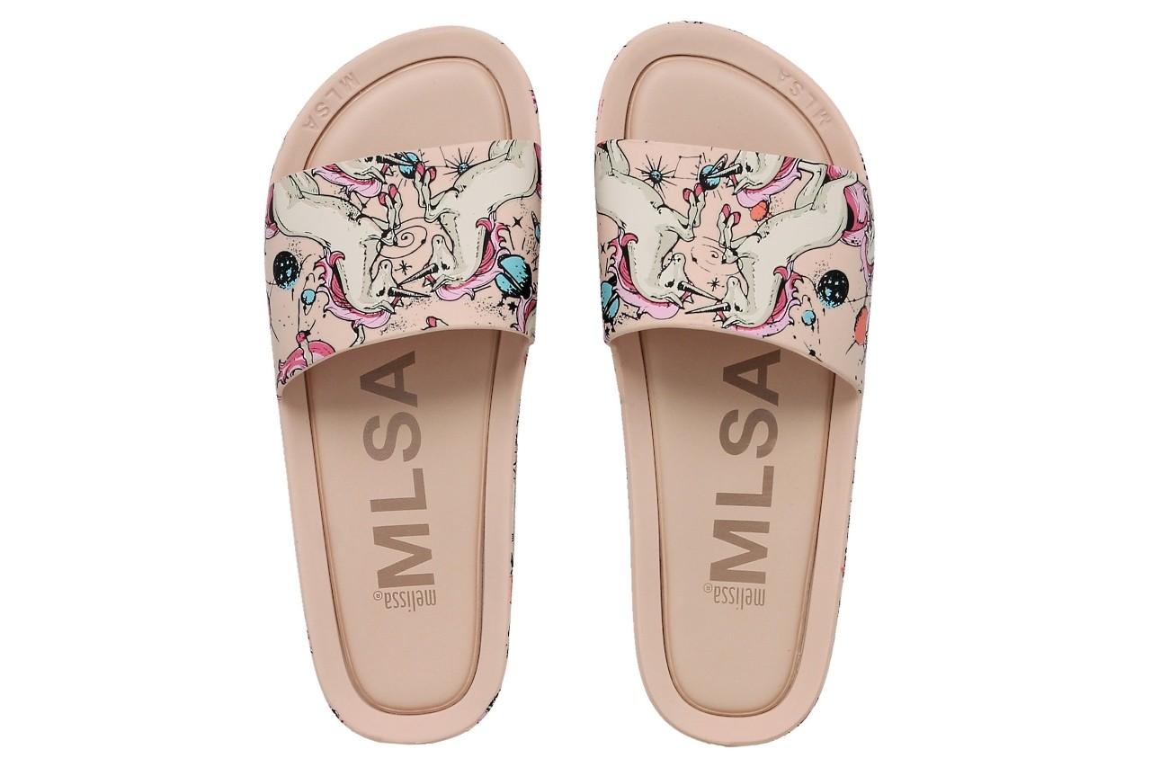 Melissa beach slide 3db rainbow ad pink beige - melissa - nasze marki 3