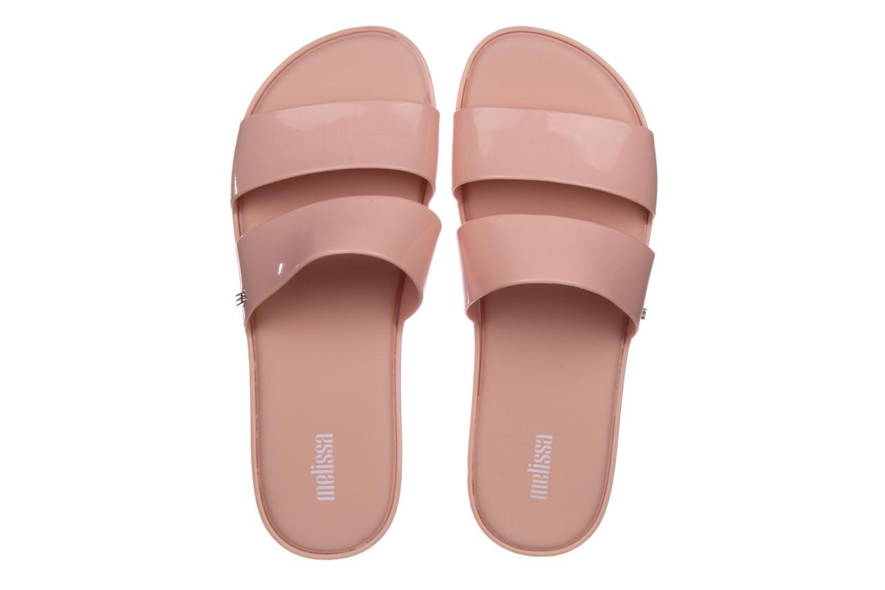 Klapki melissa color pop ad pink 010343, róż, guma - kobieta 11