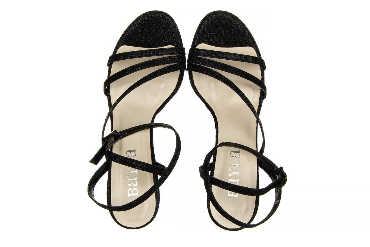 Sandały bayla-187 587-1115 black 187015, czarny, skóra ekologiczna  - sandały - buty damskie - kobieta 11
