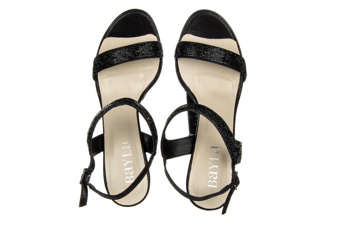 Sandały bayla-187 587-536 black 187019, czarny, skóra ekologiczna  - sandały - buty damskie - kobieta 11