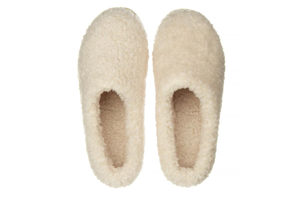 Klapki emu joy teddy natural 119139, beż, futro naturalne  - trendy - kobieta 11