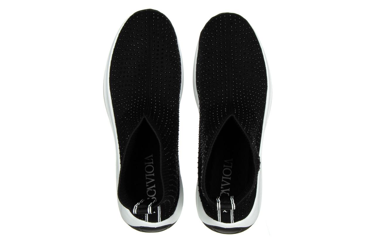 Sneakersy sca'viola l-15 black 047194, czarny, materiał - trendy - kobieta 12