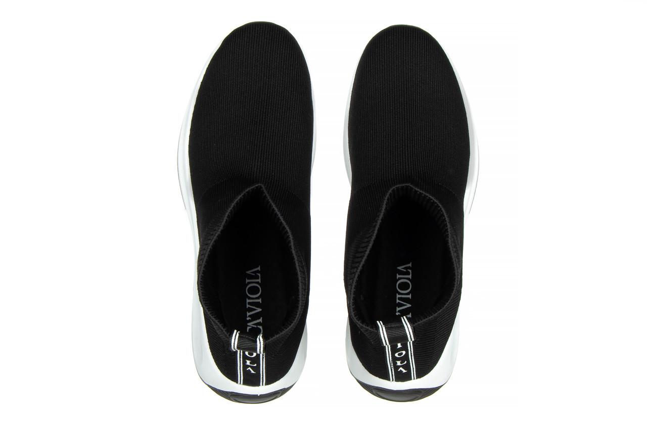 Sneakersy sca'viola l-16 black 047195, czarny, materiał - jesień-zima 2020/2021 12