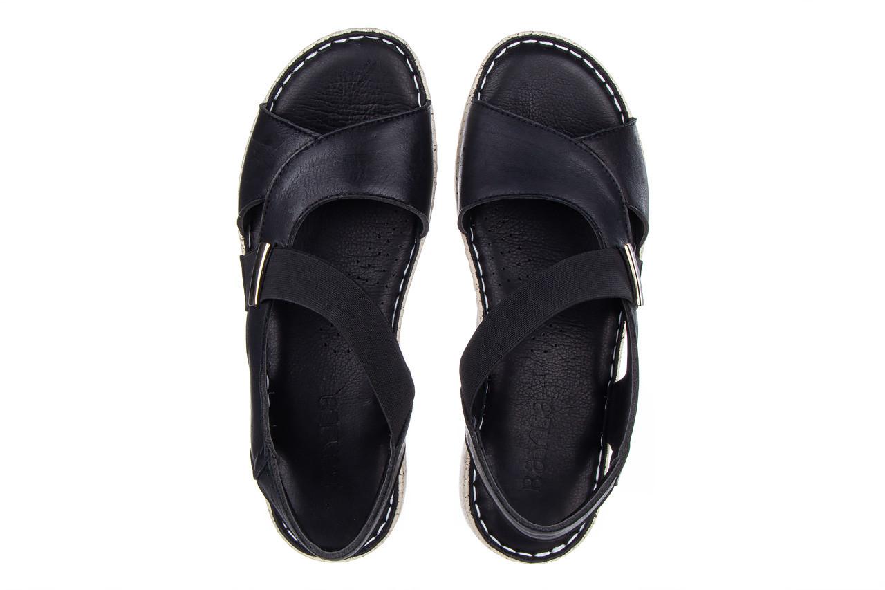 Sandały bayla-161 016 901 black 161191, czarny, skóra naturalna  - bayla - nasze marki 12