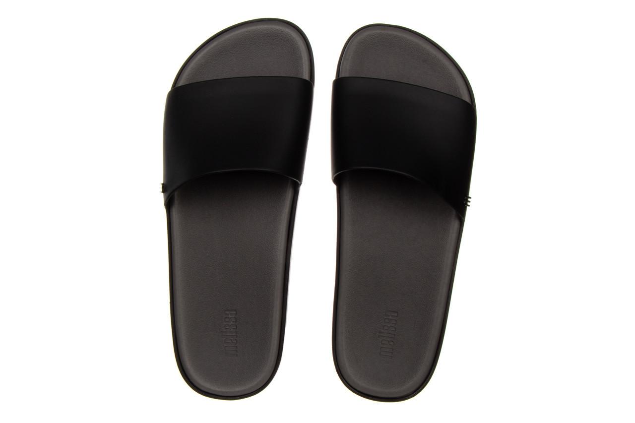 Klapki melissa beach slide next gen ad matte black smoke 010338, czarny, guma - klapki - buty damskie - kobieta 11