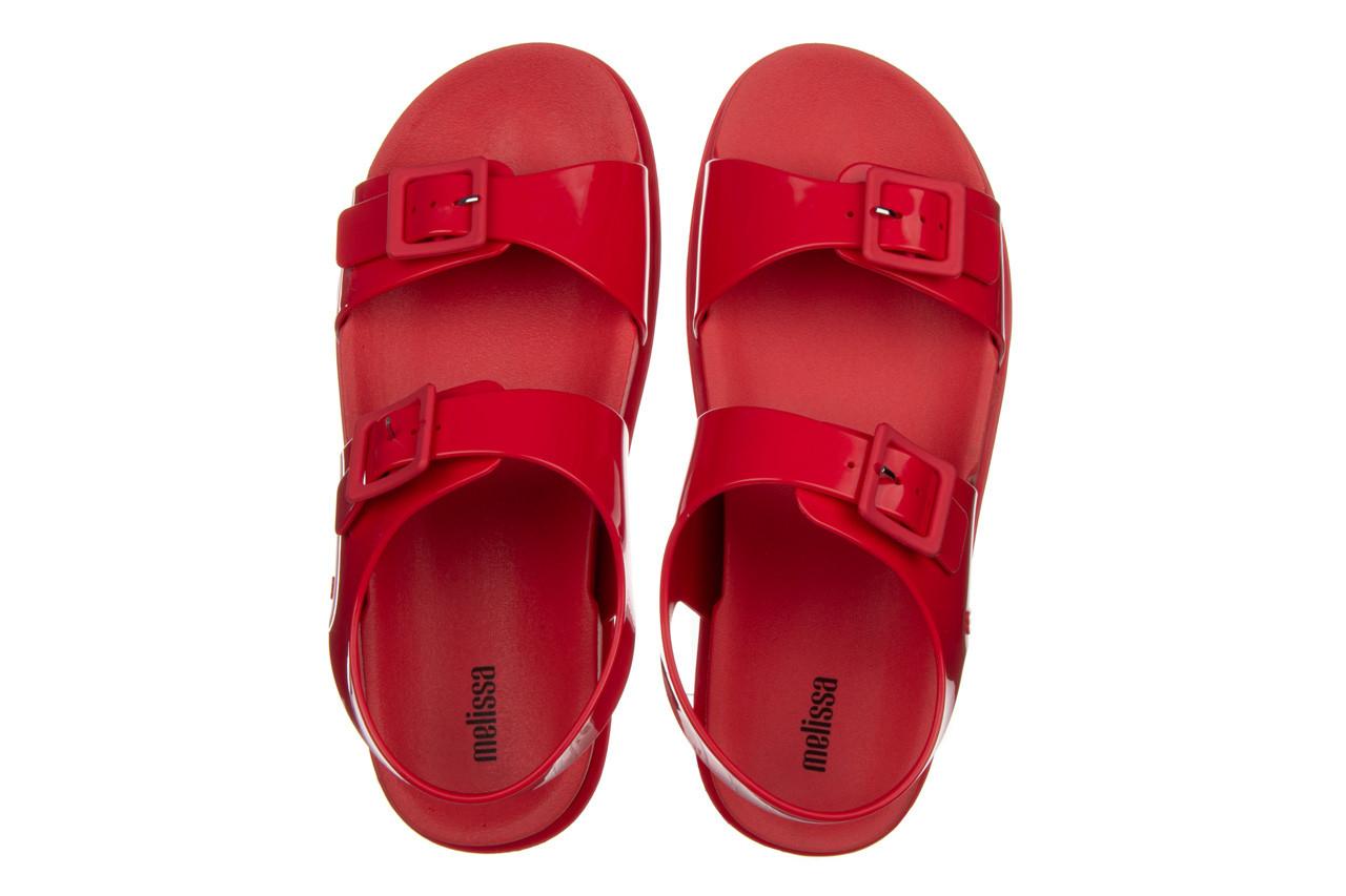 Sandały melissa wide platform ad red 010363, czerwony, guma - nowości 12