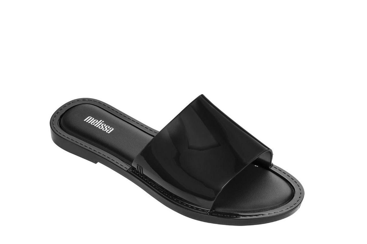 Klapki melissa soul ad black 19, czarny, guma - gumowe/plastikowe - klapki - buty damskie - kobieta 4