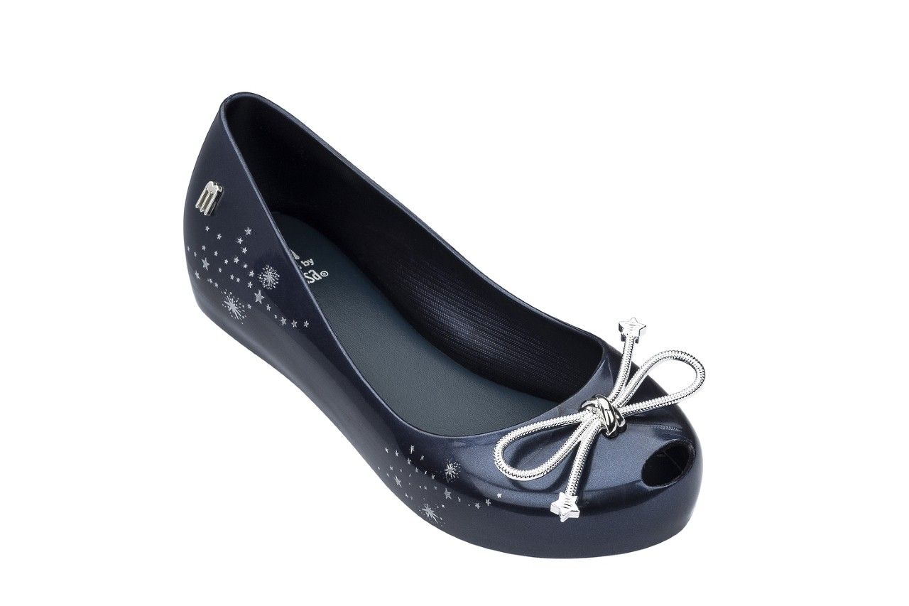 Baleriny melissa ultragirl elements ad blue, granat, guma - peep toe - baleriny - buty damskie - kobieta 4