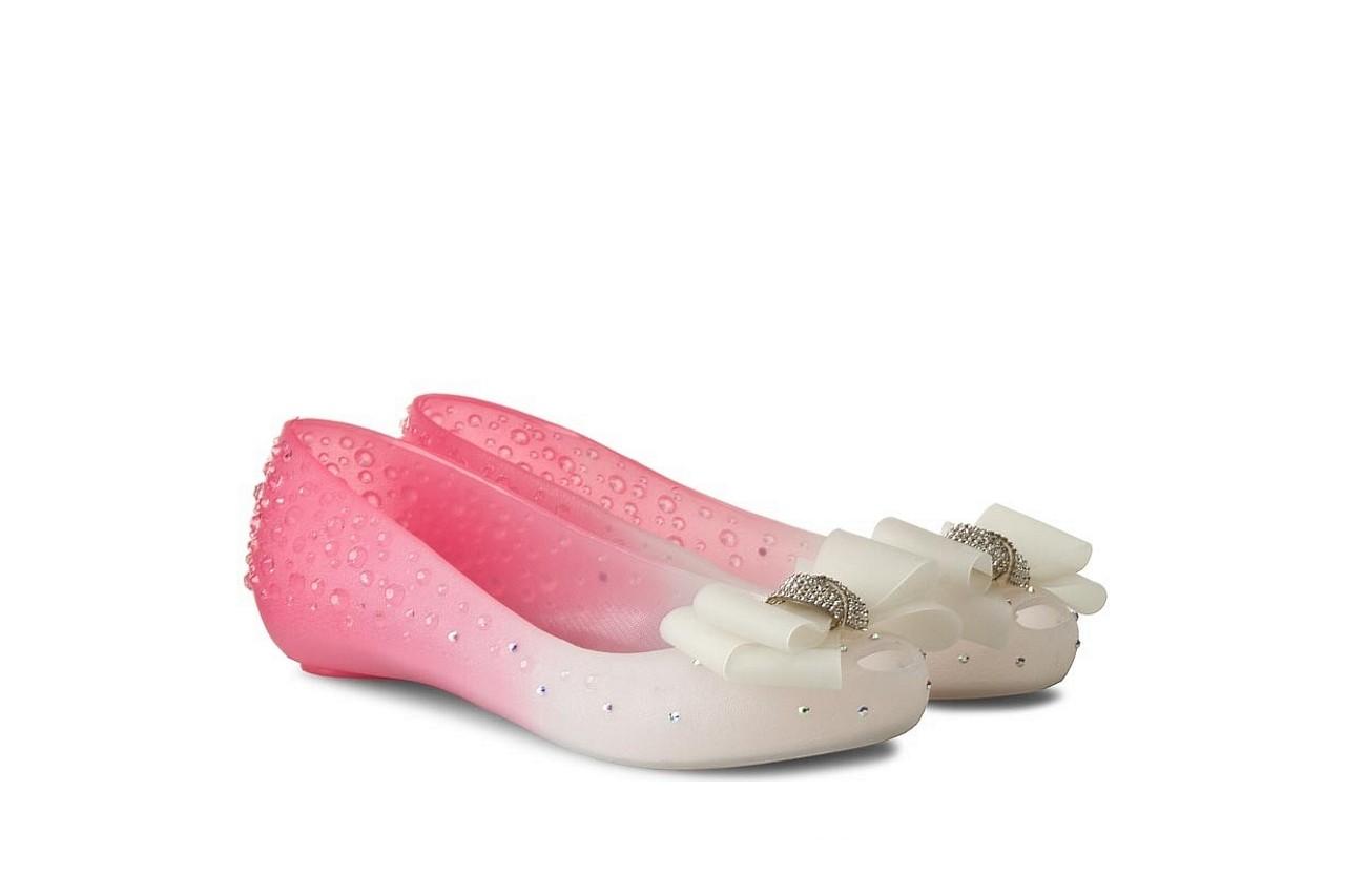 Baleriny sca'viola 870 pink, róż/biały, silikon - ślubne - baleriny - buty damskie - kobieta 5