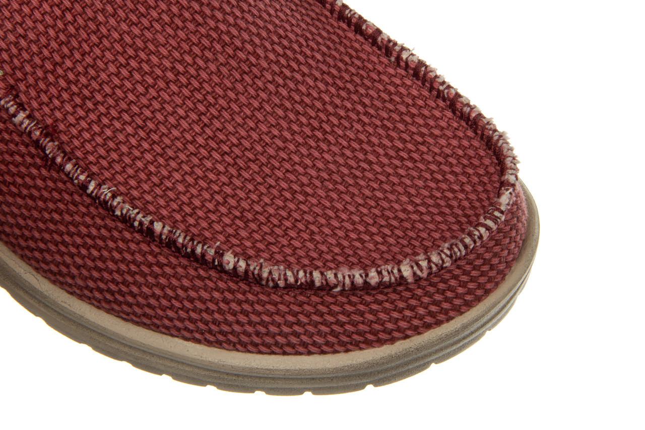 Półbuty heydude mikka braided pompeian red 003215, czerwony, materiał  - nowości 14