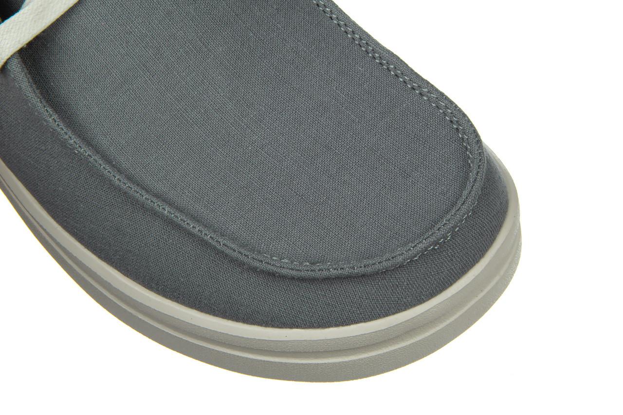 Półbuty heydude wendy rise chambray abyss blue 003220, niebieski, materiał - nowości 13