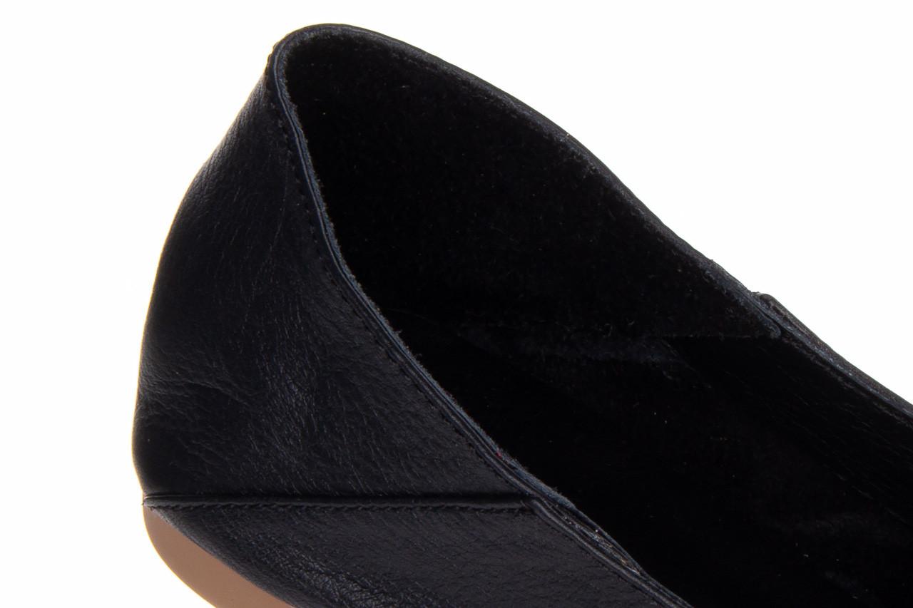Półbuty bayla-161 138 4060 black 161222, czarny, skóra naturalna  - wsuwane - półbuty - buty damskie - kobieta 14