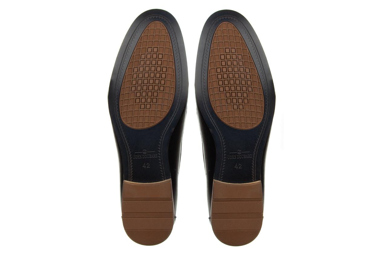 Mokasyny john doubare ygc-z2154-301-10 black 104174, czarny, skóra naturalna  - mokasyny i espadryle - buty męskie - mężczyzna 15